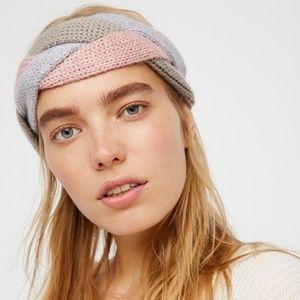 Free People Emilime Braided Knit Headband New